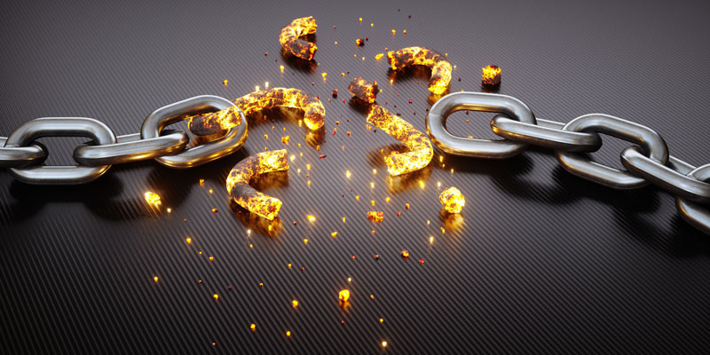 Olympia LePoint Freedom Through Failure - image of broken chainsimage of broken chains