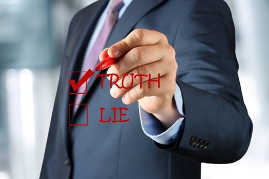 Truth versus Lie Picture
