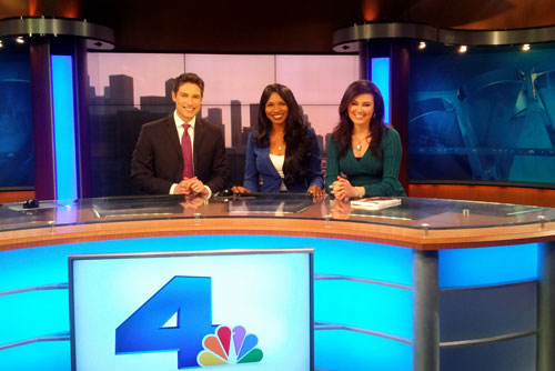 Olympia LePoint, TV Life Coach and Guest Speaker - appearance on NBC 4