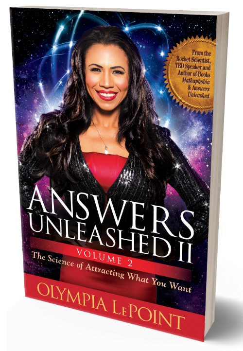 Olympia LePoint Answers Unleashed Volume 2 book cover
