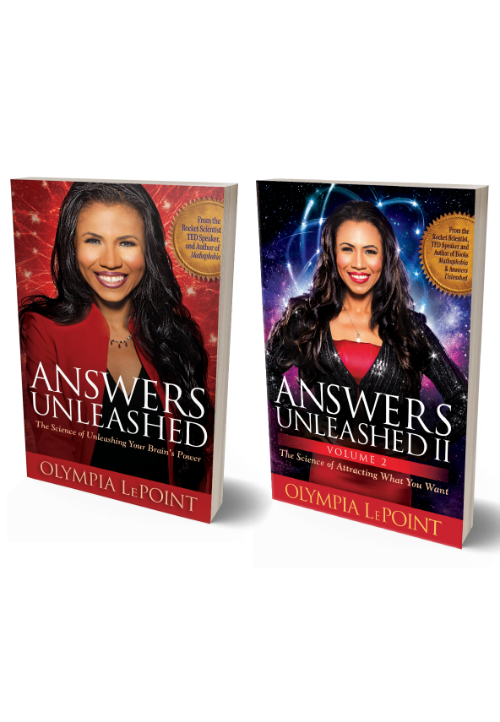 Olympia LePoint Answers Unleashed book cover image